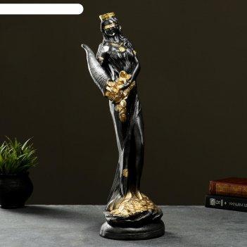 Фигура богиня фортуна серебро, 50см