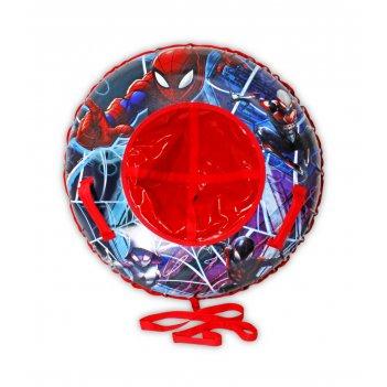 Marvel человек-паук, тюбинг - надувные сани,резин.автокамера, материал гля