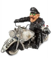 Rv-294 фигурка полицейский байкер (w.srtatford)