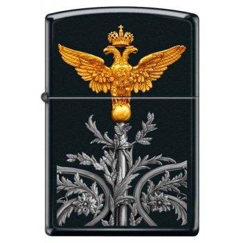 Зажигалка двуглавый орёл zippo 218 russian coat of arms