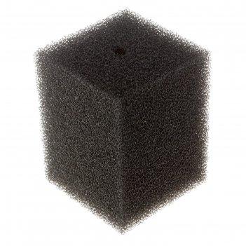 Губка прямоугольная для фильтра №13, ретикулированная, 12х12х16 см
