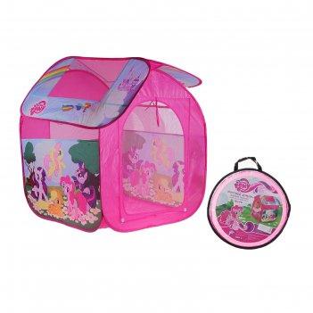 Детская палатка my little pony в сумке, gfa-0059-r