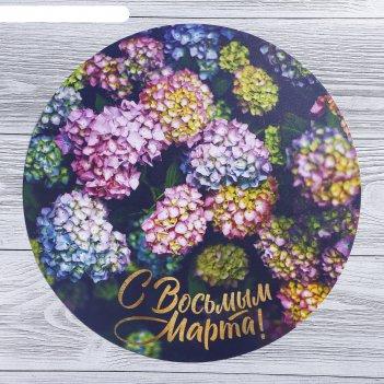 Многофункциональный кухонный коврик «с восьмым марта», 30 см