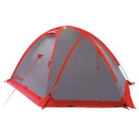 Tramp палатка rock 3 (v2) серый