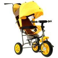 Велосипед трёхколёсный лучик малют 1, надувные колёса 10/8, цвет коричневы