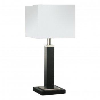 Настольная лампа a8880lt-1bk waverley 1x40w e14 20x20x45 см