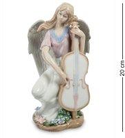 Jp-16/14 статуэтка ангел волшебная виолончель (pavone)