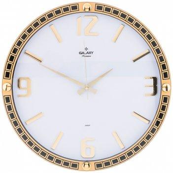 Часы настенные кварцевые диаметр 39,5 см диаметр циферблата 34,9 см (кор=1