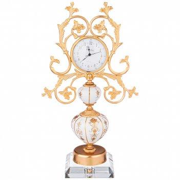 Часы настольные arcadia28*14 см высота 50 см циферблат 9,5 см