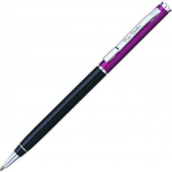 Шариковая ручка pierre cardin,gamme, корпус - аллюминий и латунь. отделка