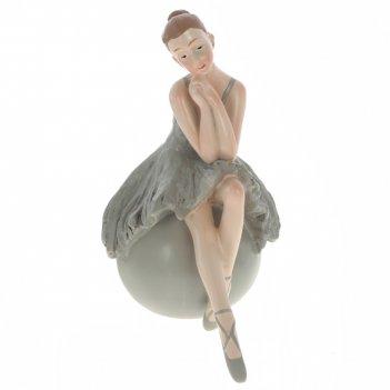 Фигурка декоративная балерина, l14 w8 h15 см