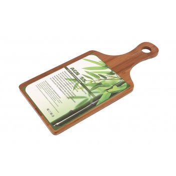 Доска разделочная 35*16*0,9 см, бамбук