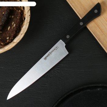Нож кухонный samura harakiri, универсальный, лезвие 15 см, сталь aus-8