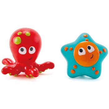 Игрушки брызгалки «обитатели океанского дна»