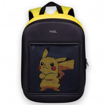 Рюкзак с led-дисплеем pixel one, 44 х 35 х 13, yellow, жёлтый