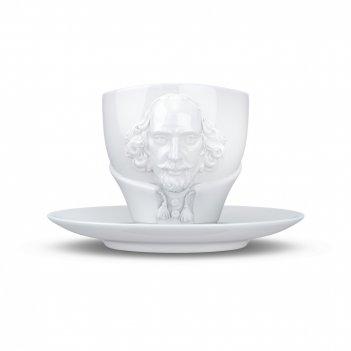 Пара чайная william shakespeare, объем: 260 мл, материал: фарфор, цвет: бе