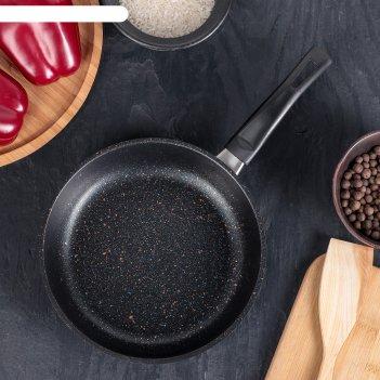 Сковорода 19 см rock black