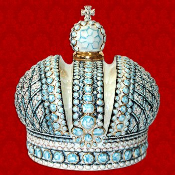 Подарочный штоф корона российской империи 1,5 л шф-130с