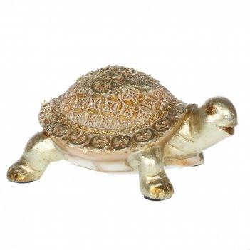 Фигурка декоративная черепаха, l16 w11,5 h7,5 см