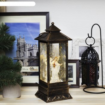 Фигура световая новогодний фонарик ангел, 28х10х10 см, 3*аа (не в компл.),