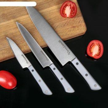 Набор ножей 3 в 1 samura harakiri11, 23, 85, корроз.-стойкая сталь, abs пл