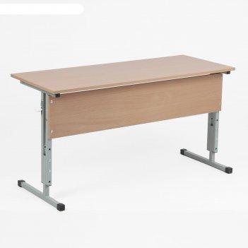Стол ученический двухместный регулируемый по углу наклона и высоте ростова