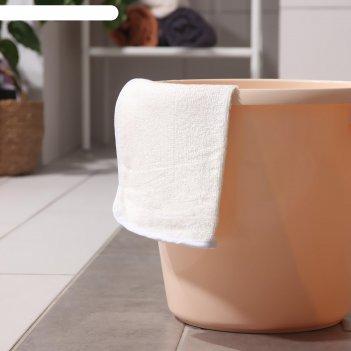 Салфетка для уборки из бамбукового волокна доляна «мягкая люкс», с петельк
