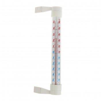 Термометр оконный престиж (-50°с<т<+50°с) на липучке, упаковка пакет
