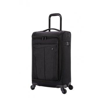 Чемодан wenger getaway, цвет черный, полиэстер 720x720d добби, 35x20x63 см
