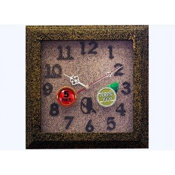 Часы настенные d30-325-камень