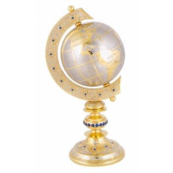 Глобус голубая планета (в ассортименте)  златоуст