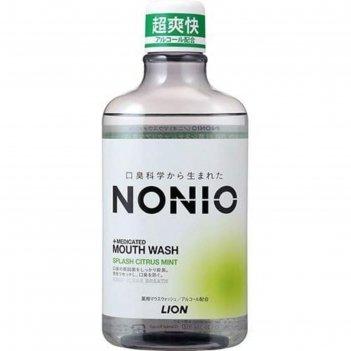 Зубной ополаскиватель, nonio, с длительной защитой от неприятного запаха,