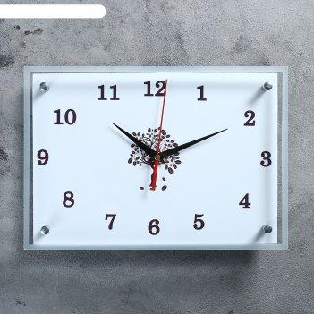 Часы настенные, серия: кухня, стильные микс 25х35 см