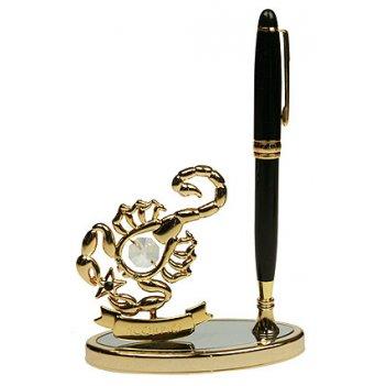 Подставка под ручку - знак зодиака скорпион 10*15см