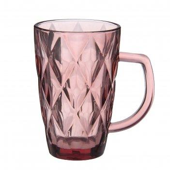 Кружка 270 мл круиз, цвет розовый