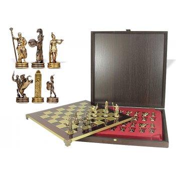 Шахматы оригинальные сувенирные 36х36 троянская война от manopoulos