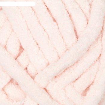 Пряжа adelia dolly 100% полиэстер 40м/100гр (05 св. розовый)