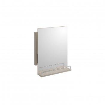 Зеркало  smart без подсветки, с выдвижным механизмом, цвет белый