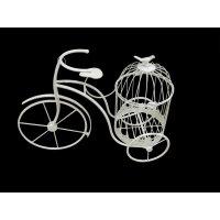 Подставка для цветов велосипед, l50w20h38см