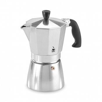 Кофеварка гейзерная lucino, объем: 330 мл, материал: алюминий, пластик, 16