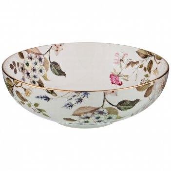 Тарелка belle для первых блюд (для салата), диаметр 18 см.