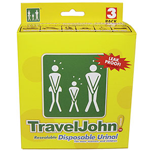 66918 карманный писсуар  travel john