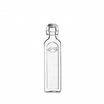 Бутылка квадратная для масла и уксуса с мерным делением, объем: 600 мл, ма