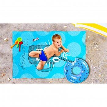 Пляжное покрывало «айс смузи», размер 90 x 140 см