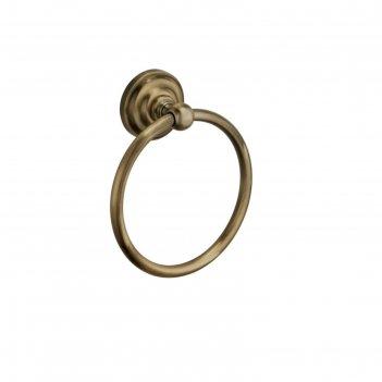 Полотенцедержатель fixsen fx-83811, кольцо, бронза