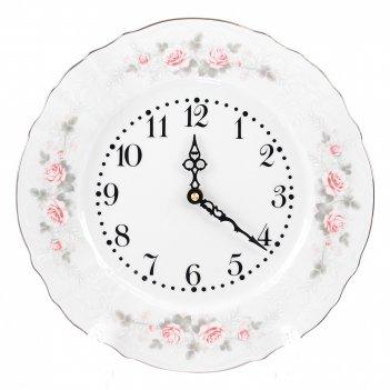 Часы bernadotte серая роза платина 27 см