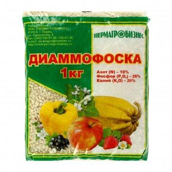 Удобрение минеральное диаммофоска, 1 кг