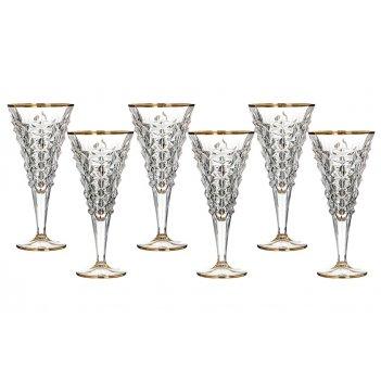 "Набор бокалов для вина ""ледник"" из 6 шт.180 мл."