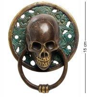 24-060 фигура с кольцом череп бронза (о.бали) большая