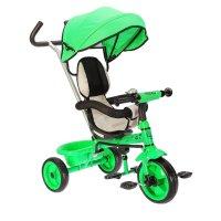 Велосипед трехколесный micio light 2018, колеса eva 10/8, цвет зеленый